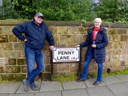 Penny Lane is in my ears and in my eyes.....